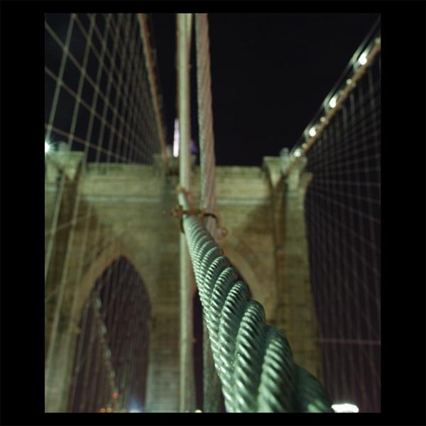 Brooklyn Bridge by Strobe