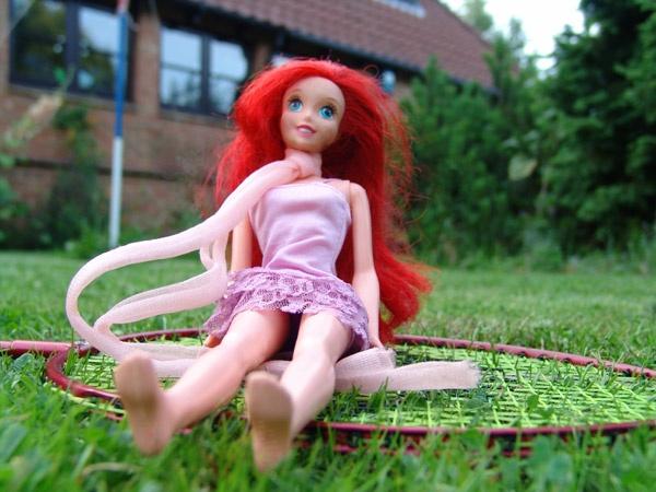 barbie badminton by jessbu