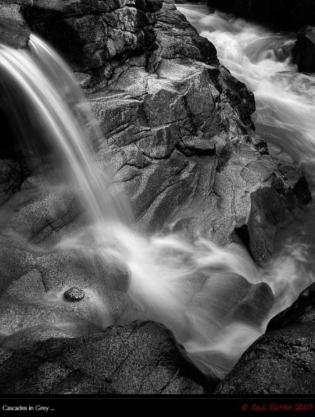 Cascades in Grey ... by sut68