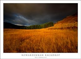Rowardennan Backdrop