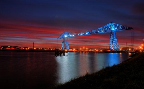 Transporter Sunset. by photodocktor