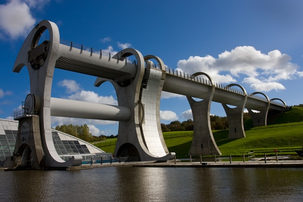 Another Falkirk Wheel by p3asa