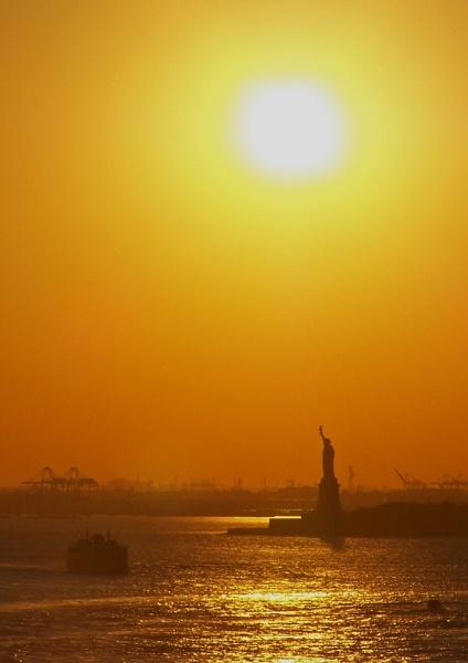 Liberty Sunset by mark2uk