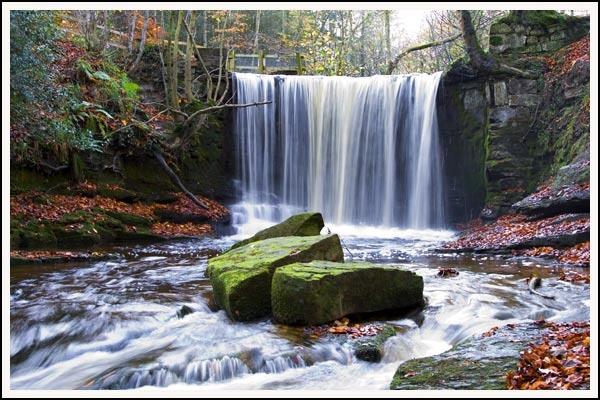 Clywedog Falls by simonjr