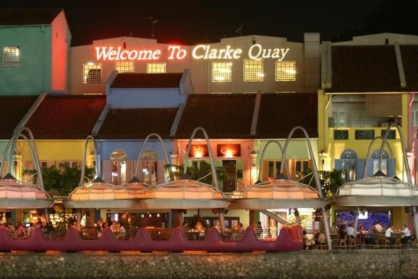 Clarke Quay, Singapore by paulvo