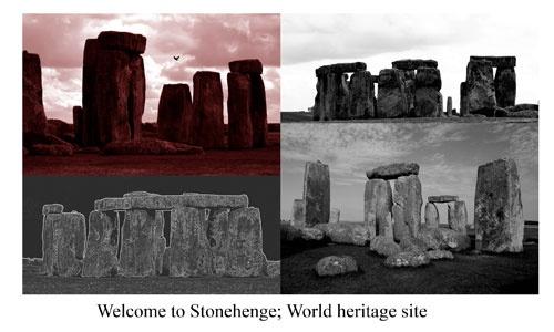 Stonehenge Postcard by gma