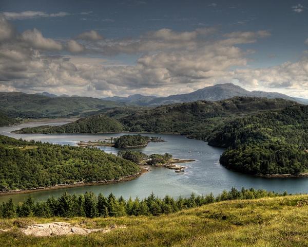 Loch Moidart by podgod