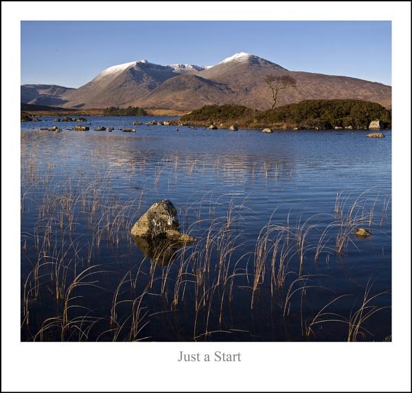 Just a Start... by Scottishlandscapes