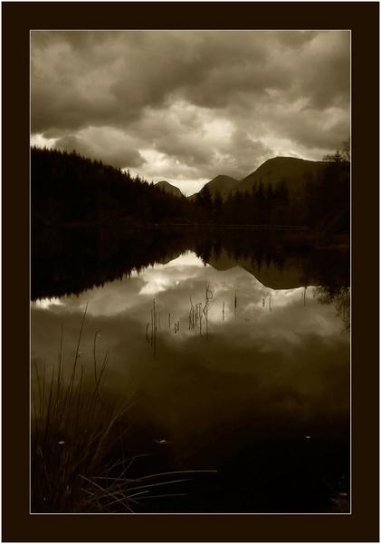 Glencoe Lochan by Bexphoto