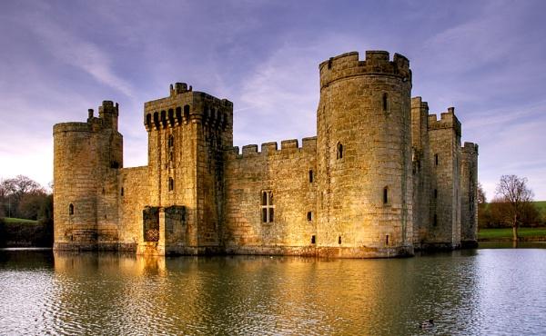 Bodiam Castle by Sezz