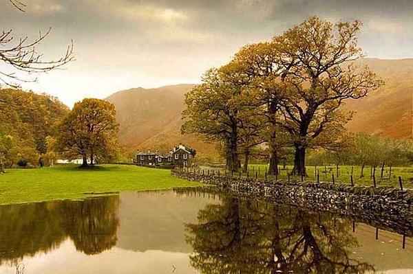 Borrowdale in autumn by Hawkgenes
