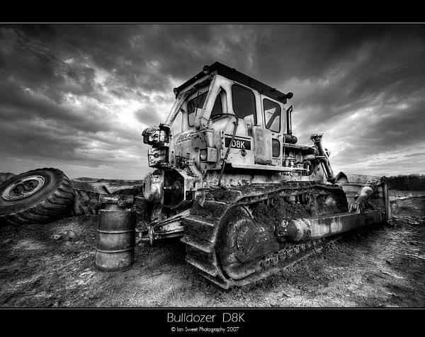 Bulldozer D8K by Ian_Sweet