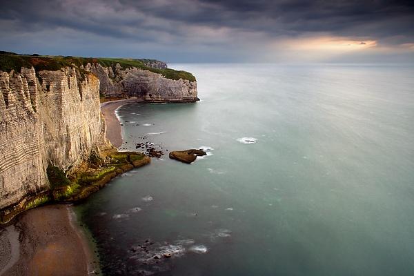 La Courtine. Etretat, Normandy, France. by paolodefaveri