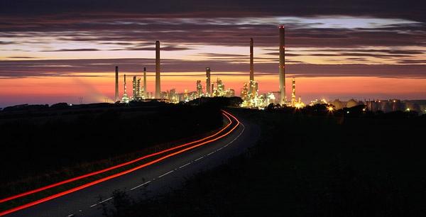Dusk Refinery by Steve_Atkins