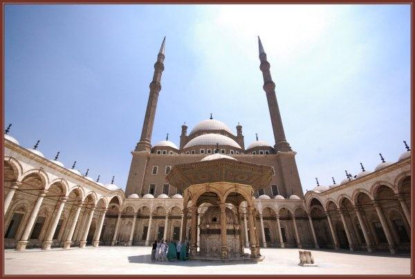 Alabaster Mosque by justbrock