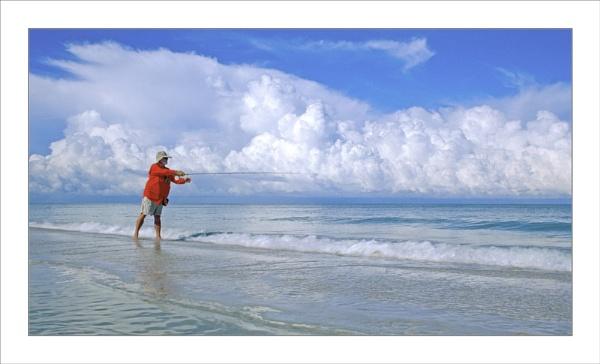 "\"" Floridian Fisherman \"" by John Giddings"