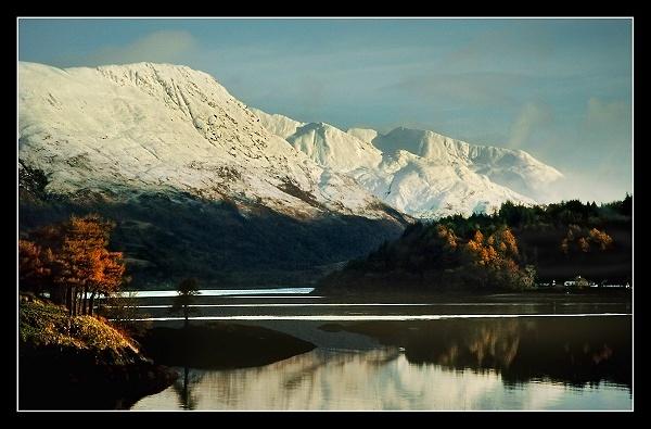 Snowy Glencoe by AliMurray
