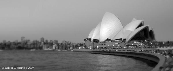Opera House by davidsearle