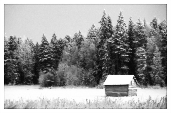 The hut. by rontear