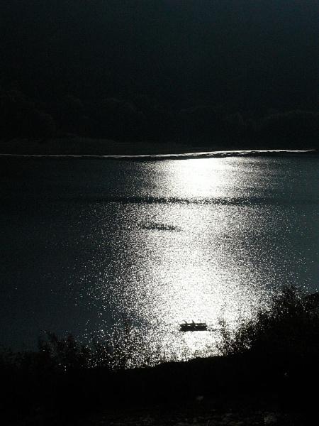 Tzonevo Dam Silhouette by acbeat