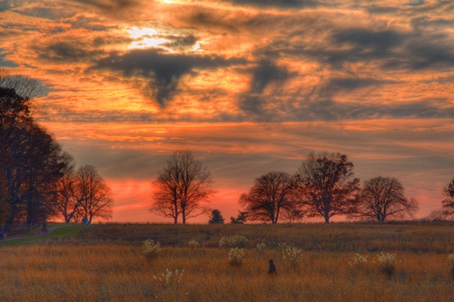 Valley Forge Sunset 3 by skoffs