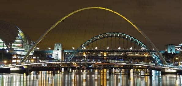 Tyne Bridges by peugeot406