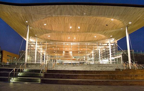Senedd building in Cardiff by Steven_Tyrer