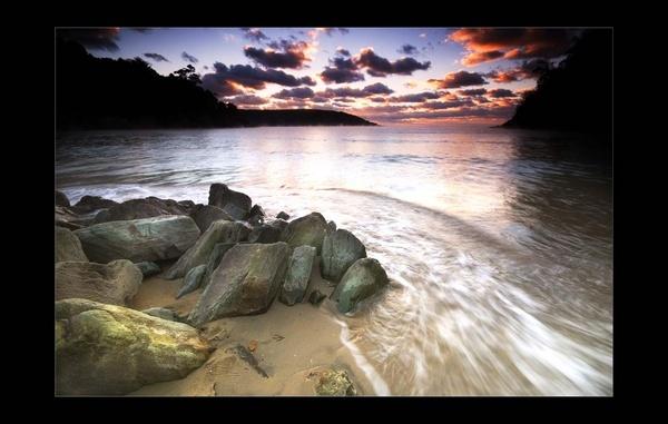 Sunrise Surf by tavm