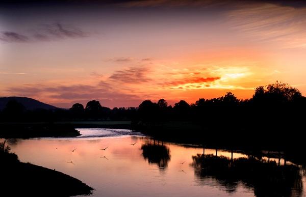 Glasbury Dawn by brianjw