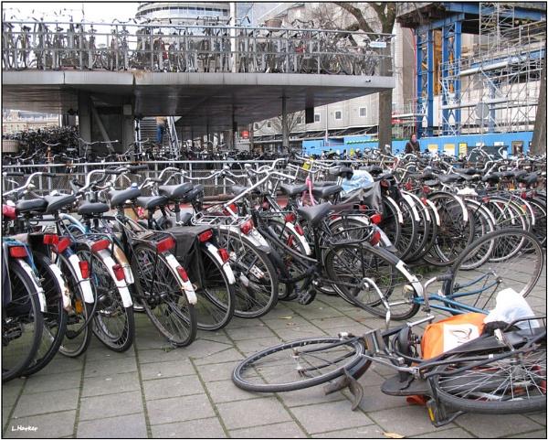 Multi-Storey Bike Park by Lucy_Locket