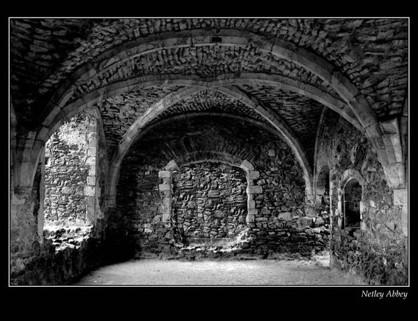 Netley Abbey II by clo99