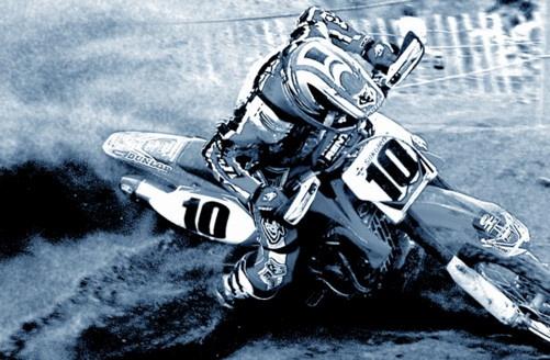 Motocross Rider by digbylix