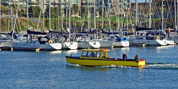 A Yellow Boat by sandrish