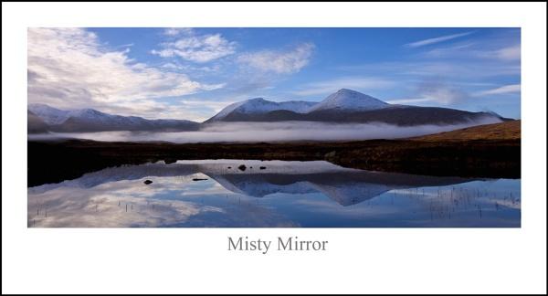 Misty Mirror by Scottishlandscapes