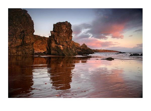 Coastal Rocks+Reflections by xinia