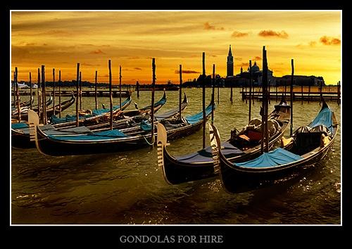 Gondolas For Hire by KenV