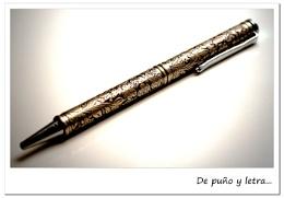 Engraving ballpoint pen