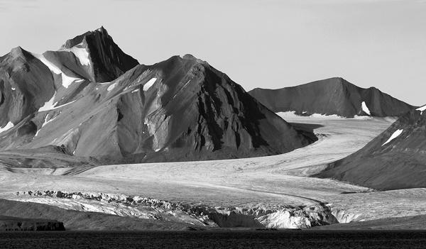 Spitsbergen Glacier by albyn