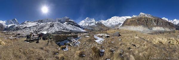 Annapurna Base Camp Panorama by Darren_Birkin