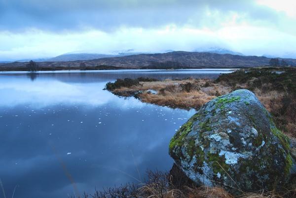 Winters approach, Rannoch Moor by dsafari