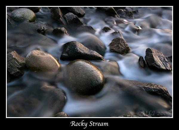 Rocky Stream by mialewis