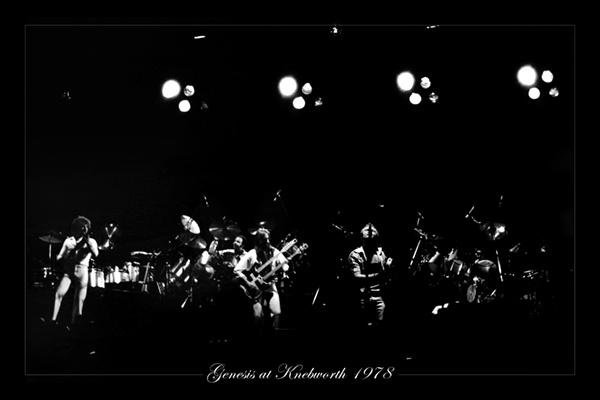 Genesis - Knebworth 78 by Curtain