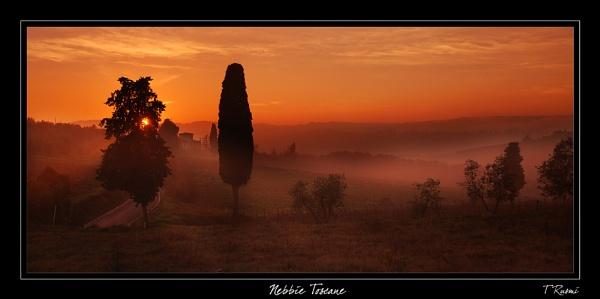 Nebbie Toscane by rusmi