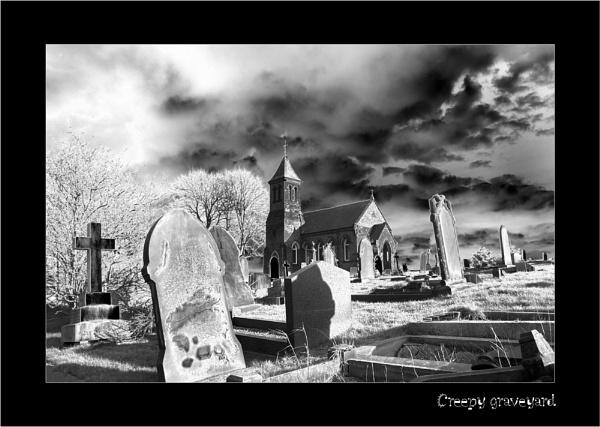 Creepy graveyard by C_Daniels