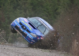 Subaru stunts