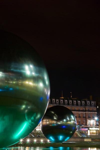 Sheffield at night by Strobekid