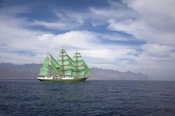 Sailboat at Gran Canaria by Monradus