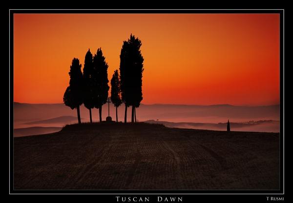 Tuscan Dawn by rusmi