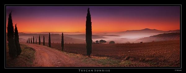 Tuscan Sunrise by rusmi