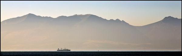 Sailing past Arran... by Scottishlandscapes